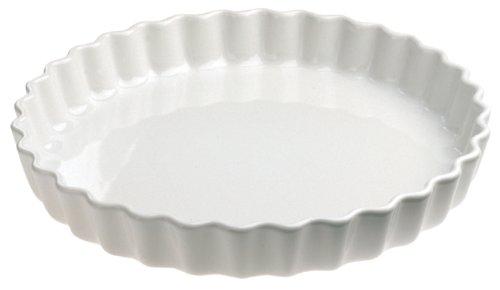 Revol 5645 Tourtière Rond Porcelaine Blanc 4 cm