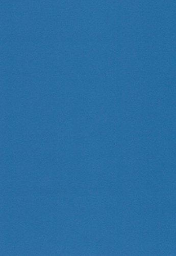 100 Blatt DIN A4 Papier matt blau 90g/m² von WILLSTON - komplett durchgefärbt, mögliche Verwendung: Einladungen, Einlegeblätter für Alben, Hochzeitskarten, Fotoalbum, Bastelarbeiten und vieles mehr