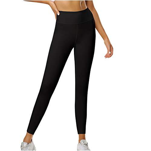 URIBAKY - Pantalones de yoga para mujer, con burbujas, transpirables, con bolsillo Tie-Dye/Cruz, cintura alta, capacidad deportiva de pesca en la cadera de secado rápido Negro XXL