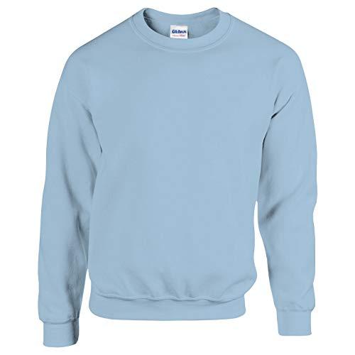 Gildan Herren Sweatshirt, Blau - Light Blue, M