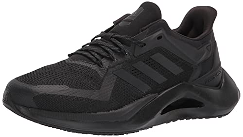 adidas Men's Alphatorsion 2.0 Trail Running Shoe, Black/Black/Black, 9.5