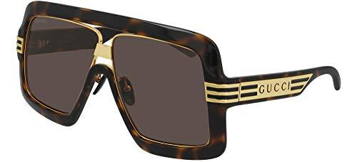Gucci Gafas de Sol GG0900S Havana Gold/Brown 60/9/140 unisex