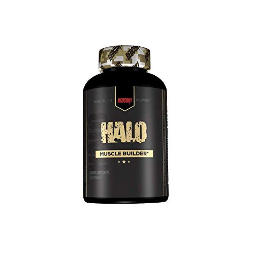 Redcon1 - Halo - 60 Servings, Muscle Builder, Increase Lean Gains and Muscle Mass, Increase Protein Synthesis