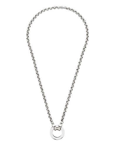 Jewels by Leonardo DARLIN'S Damen-Halskette 45 Basic PEA, Edelstahl mit Maxi-Clip, Clip & Mix System, Länge 450mm, 015436