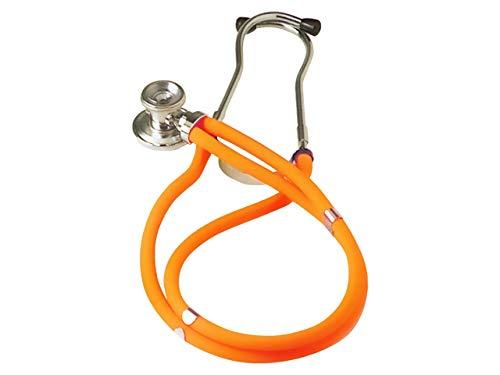 Gima Jotarap 32582 Stetoscopio duofono, Lira Arancione