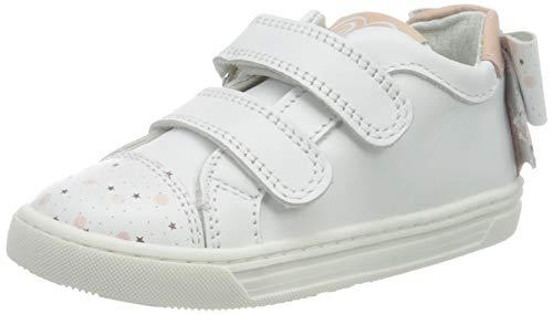 PRIMIGI Mädchen Scarpa Bambina Sneaker, Weiß (BCO/BCO-Rosa 5427733), 28 EU