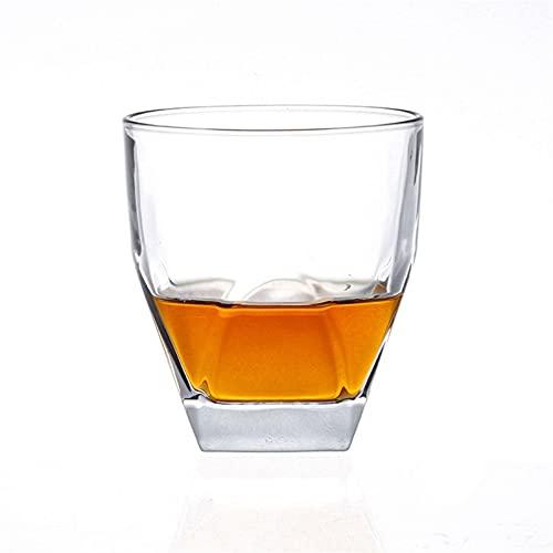 Casual 270ML Copa De Licor 2-PC Whisky Whisky Beer Wine Cocktail Bourbon Scotch Home Office Barra De Cocina 8.6X9.9CM MUMUJIN