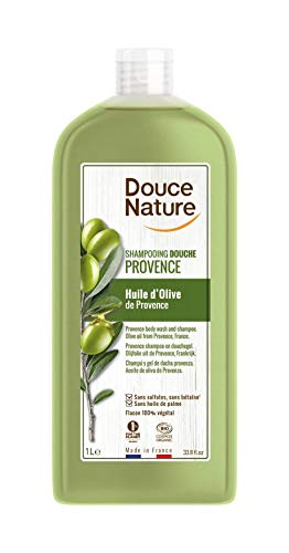 DOUCE NATURE - SHAMPOOING DOUCHE HUILE D'OLIVE 1L