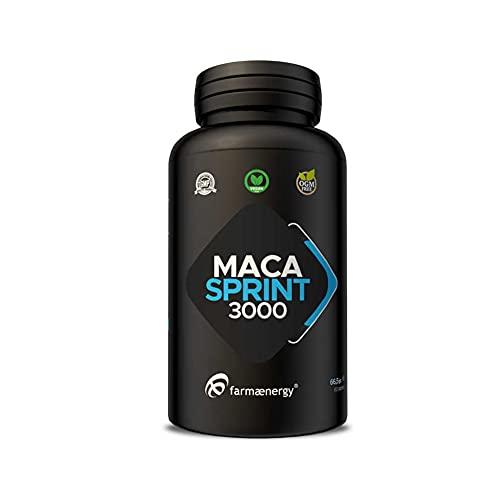 Maca SPRINT 3000 - 60 Capsule Maca Peruviana in capsule da 1g con zinco, magnesio e vit. B6