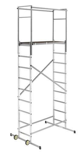 Hailo 9475-901 Echafaudage Aluminium 250 x 50 x 18 cm