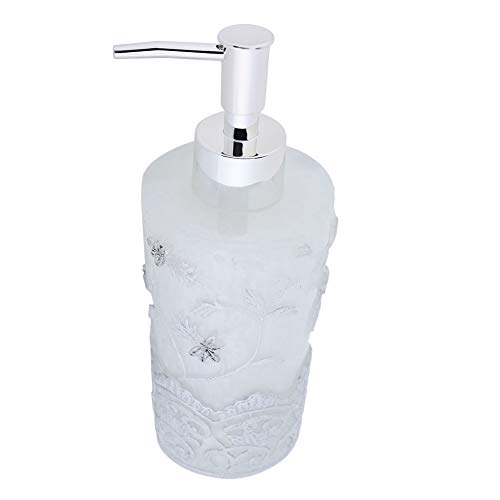 baño de alta calidad hogar hotel jabón botella exprimible loción contenedor de champú botella de jabón para cocina y baño con bomba. [blanco], contenedor de champú botella dispensador de loción de du