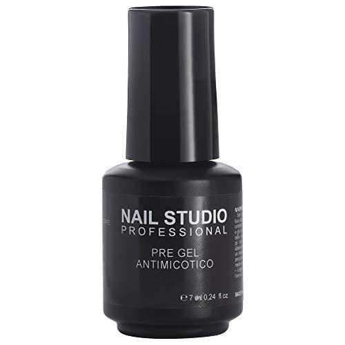 Nail Studio - Pre Gel Antimicotico - Soluzione Sgrassante e Antimicotica Per Prolungare La Durata Dello Smalto Semipermanente - Formato 7 ml