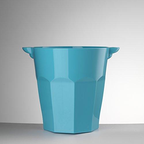 Mario Luca Giusti Porte bouteilles Smalto Bleu turquoise