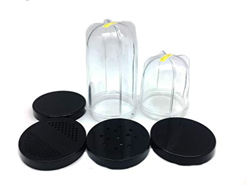2 Replacement Mixing Cups and 4 Lids compatible...