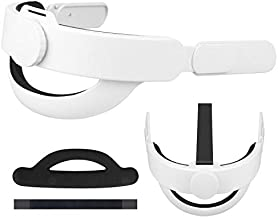 Esimen Upgrade K3 Adjustable Head Strap for Oculus Quest 2 VR Headrest Comfort Foam Pad Strap, Ergonomics Design Balance W...