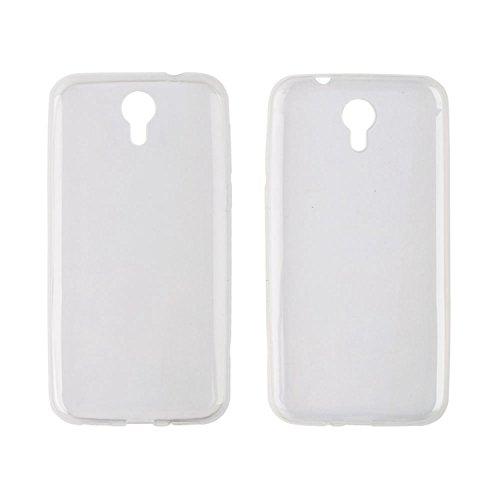 Owbb Hülle für Homtom HT3/HT3 Pro Crystal Soft TPU Silikon Ultra Dünn Softcase Schutzhülle Bumper Case mit Kratzfeste Function Backcover Design - Weiß