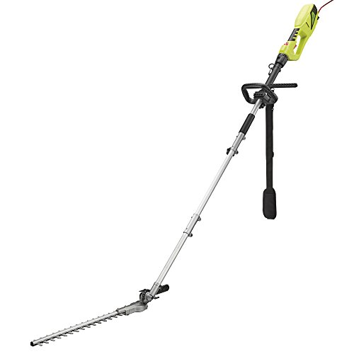Garden Gear Electric Telescopic Extendable Hedge Trimmer with 2.5m Reach, Shoulder Strap & Blade Cover (900W Telescopic Hedge Trimmer)