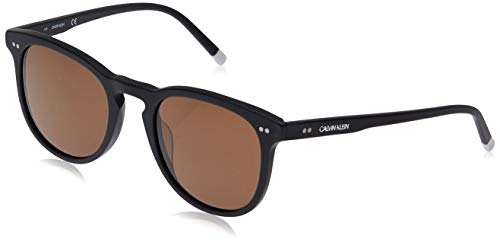 Calvin Klein CK4321S 115 51 Montures de lunettes, Noir (Matte Black), Mixte Adulte