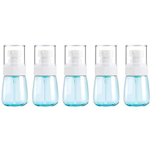 PAN-FR Bouteilles cosmétiques, 5 PCS Bouteilles en Plastique de Voyage, 30ml Bouteilles de Rechange (Couleur : Blue)