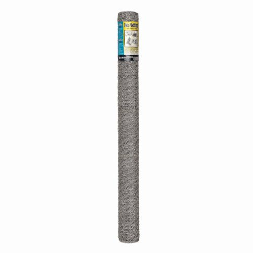 Origin Point 164850 20-Gauge Handyroll Galvanized Hex Netting, 50-Foot x 48-Inch With 1-Inch Openings - 100050531