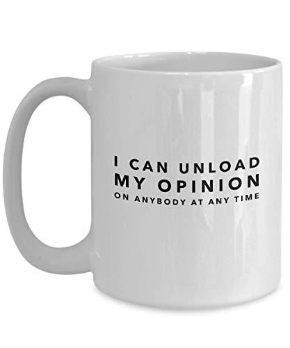 Party Coffee Mug 11 Oz Puedo descargar mi opinión sobre cualquier persona Adolescente Salvaje Joven gratis Joven adulto Amigo Compañero de trabajo Confianza Fomento