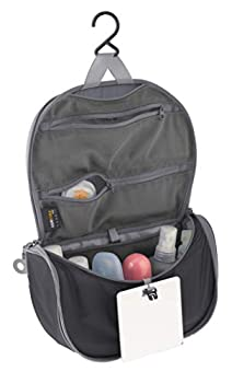 Sea to Summit Travelling Light Hanging Toiletry Bag Black Small