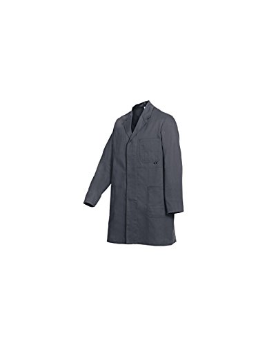 BP 1310-150 Herren Arbeitsmantel in aus reiner Baumwolle grau, Größe 56-58