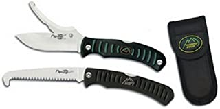 Outdoor Edge Flip N' Zip/Saw Camping Knife Combo (Clam Pack)