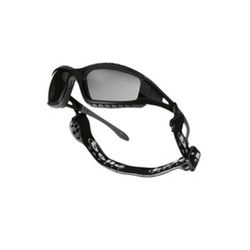 Bollé TRACPSF Tracker Spectacles Black Nylon Frame, Smoke...