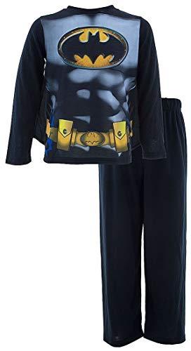 DC Comics Batman - Pijama de manga larga con capa para niños pequeños y grandes -  Multi -  24 meses