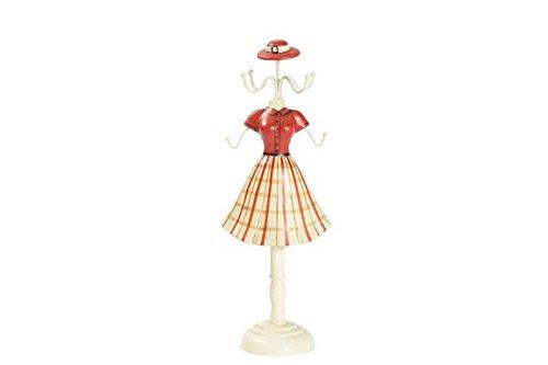 Maxioccasioni - Maniquí joyero con falda a rayas