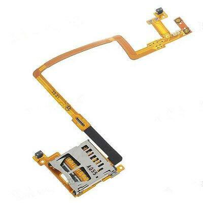 SD Card Reader Slot & L/R Shoulder Button Module Flex Cable Replacement Compatible with Nintendo DSi