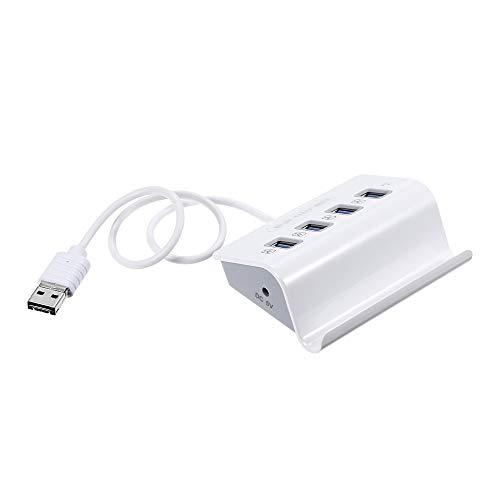 Docooler Festnight Concentrador USB Tipo C Hub USB 4 en 1 con Lector de Tarjetas Multi Spliter OTG para Telefono