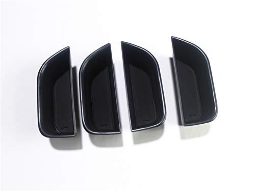 Accesorios de coche interior Accesorios Puerta de almacenamiento de la puerta de almacenamiento de la puerta lateral del interior del automóvil de plástico, titular de gafas de sol Ajuste para Audi Q7