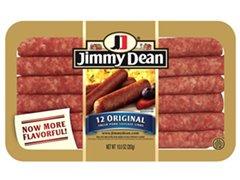 JIMMY DEAN PORK BREAKFAST SAUSAGE LINK ORIGINAL 10 OZ PACK OF 3