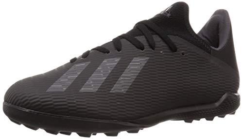 adidas X 19.3 Tf, Scarpa da Calcio Uomo, Negbás/Neguti/Plamet, 32 EU