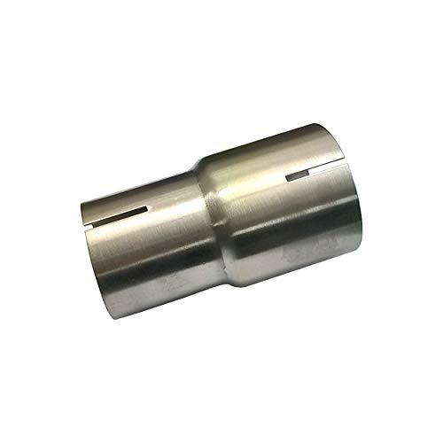 Alutec Edelstahl Reduzierung Innen 55 auf 63,5 mm Adapter Auspuff Reduzierstück