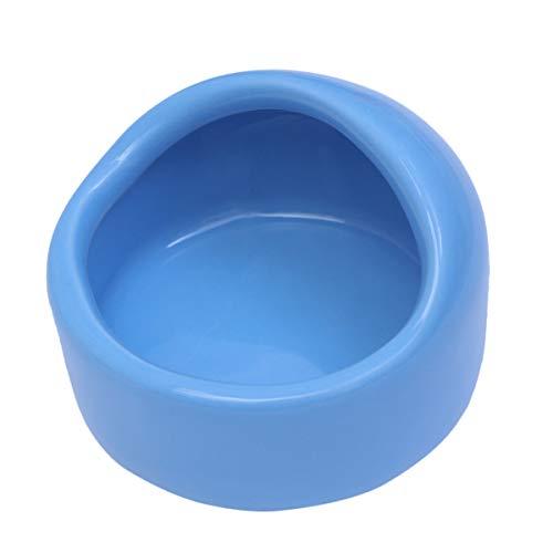 POPETPOP Cuencos de alimentación para hámster, cuencos de cerámica para animales pequeños,...