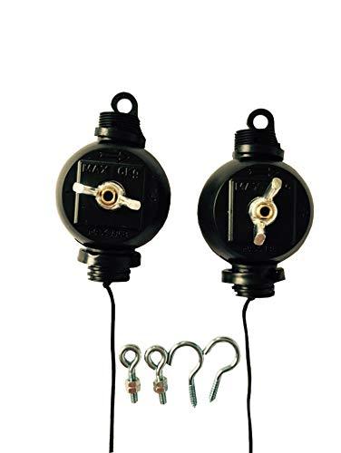 G-E Easy Rolls Lot de 2 Lampes et réflecteurs en continu Standard