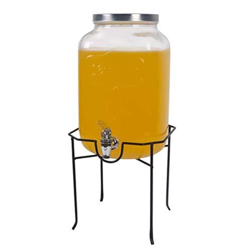 Tebery Dispensador de Bebidas metálicas 5 L / 8 L - Negro