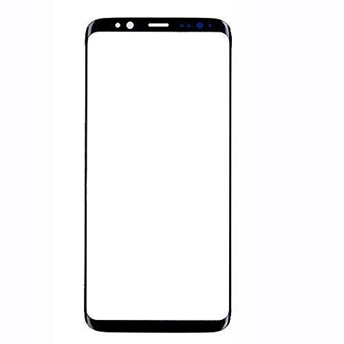 UU FIX LCD Display in Vetro per Samsung Galaxy S8 (Nero) LCD Touch Screen Vetro Frontale.