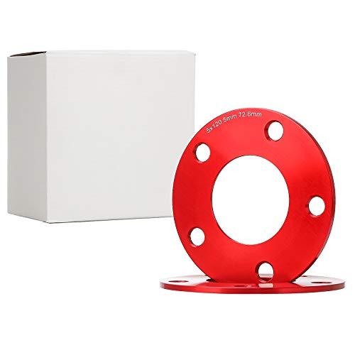 CarBole Juego de ampliaciones de detectores de 20 mm, 5 x 112 mm por eje circular M12 x 1,5.