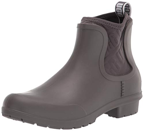 UGG Women's Chevonne Ankle Boot, Charcoal, 7