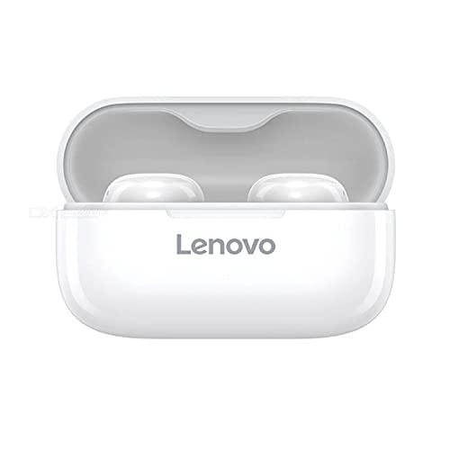 Lenovo LP11 - Auriculares inalámbricos Bluetooth 5.0 con reducción de ruido y micrófono para auriculares, 30 horas de autonomía