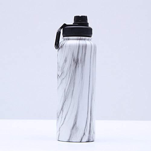 Jusemao La moda de grano de madera térmica botella de agua portátil deportes al aire libre botella de agua de negocios taza de agua 500ml 12/estilo caliente 1_500ml