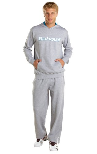 Babolat Herren Tennis Hose Training grau