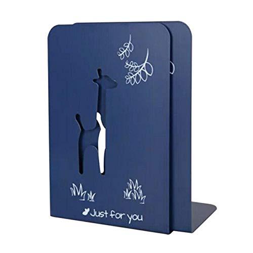 Piner metalen gegalvaniseerde draagbare boekenplank Desktop Supporter tablethouder voor boekensteunen thuiskantoor, goud