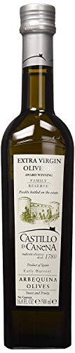 Castillo De Canena Aceite de Oliva Virgen Extra (16.8 fl. oz.) Pureza prensada en frío de Arbequina | Perfil rico de sabor intenso | Pan, sopa, pasta, aderezo de ensalada, verduras | Español