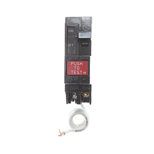 General Electric THQL1120GF Ground Fault Circuit Breaker, 1-Pole, 20-Amp, 120V