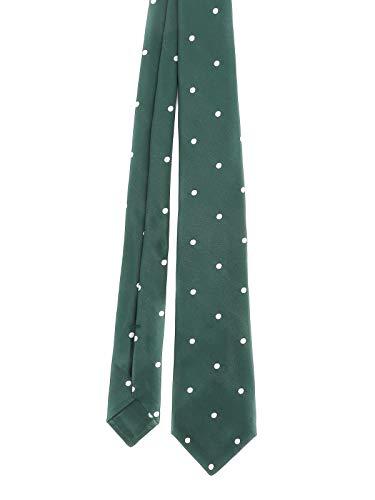Kiton Luxury Fashion Herren CRAVATTA707 Grün Seide Krawatte | Frühling Sommer 20